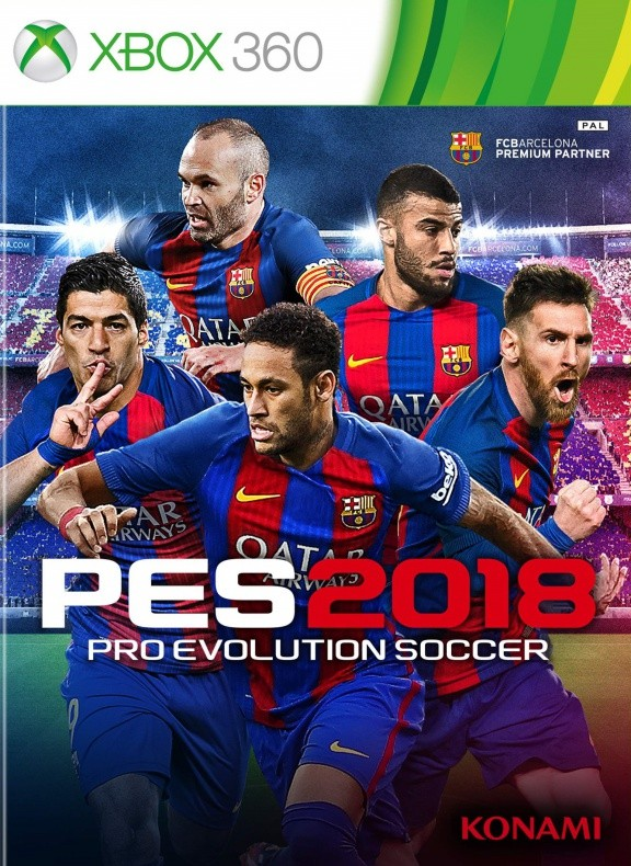 Pro Evolution Soccer 2018 (PES 2018) Русская Версия (Xbox 360)