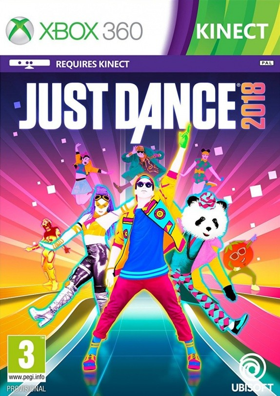 Just Dance 2018 (с поддержкой Kinect) (Xbox 360)