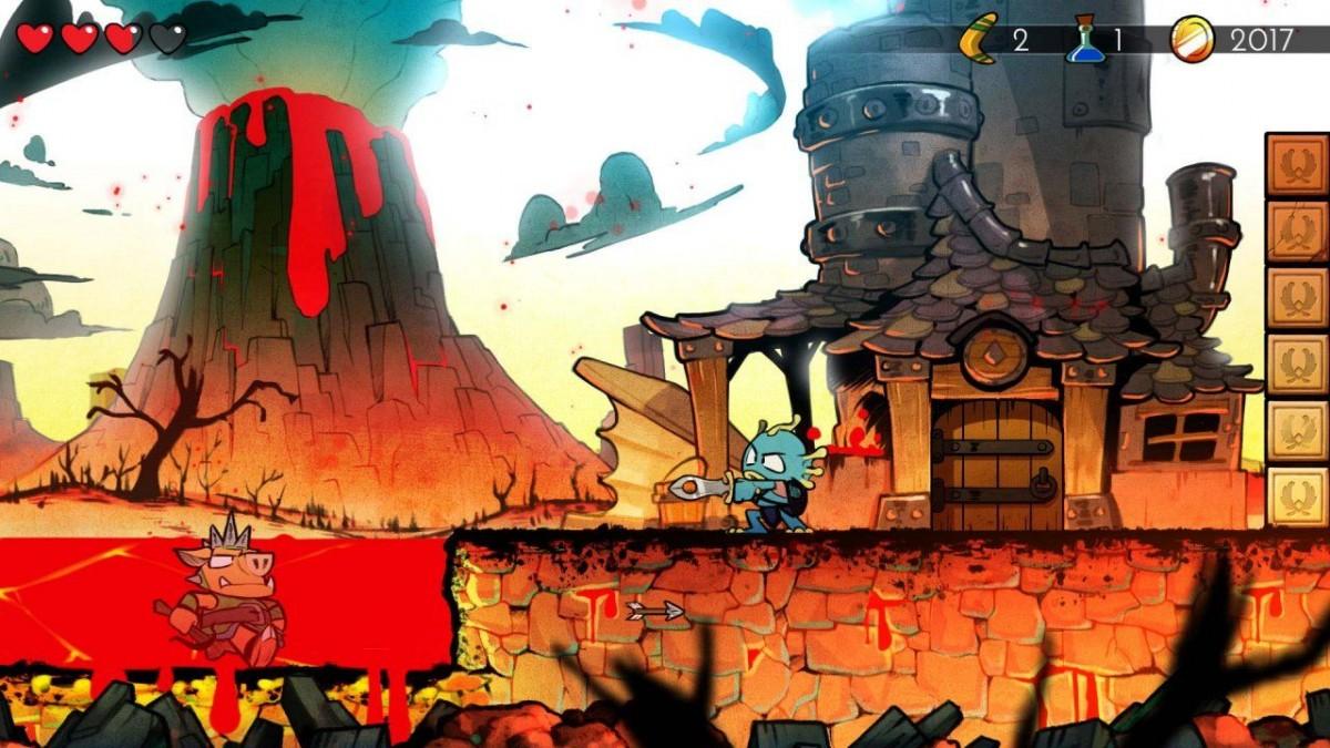 Wonder Boy: The Dragon's Trap (PS4)