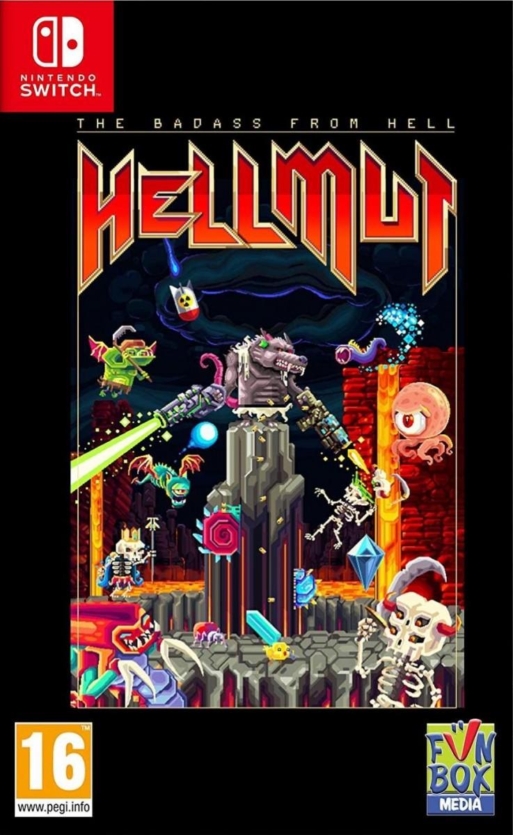 Hellmut: The Badass From Hell Русская версия (Switch)