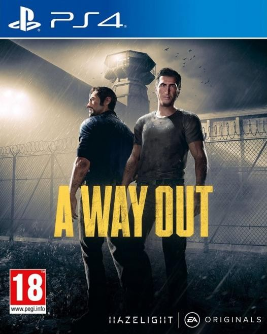 A Way Out Русская Версия (PS4)