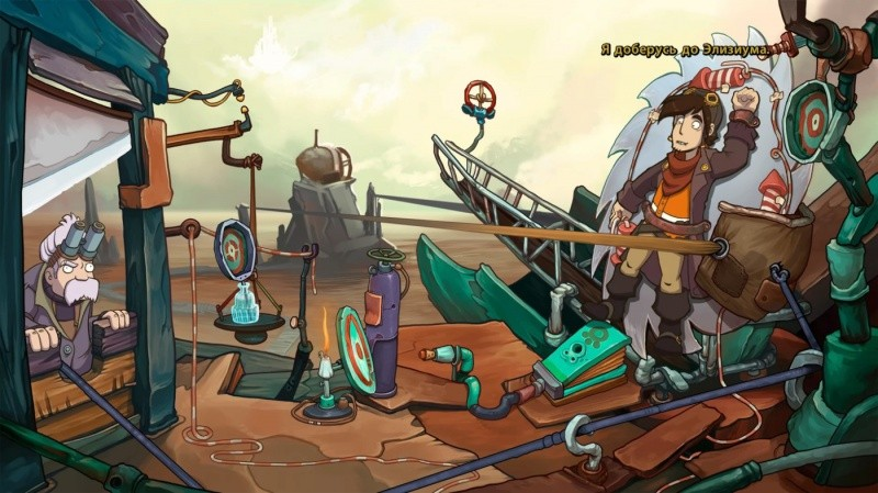 Chaos on Deponia Русская версия (PS4)
