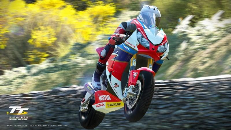 TT Isle Of Man: Ride on the Edge Русская версия (PS4)