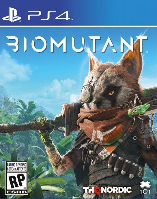 Biomutant Русская версия (PS4)