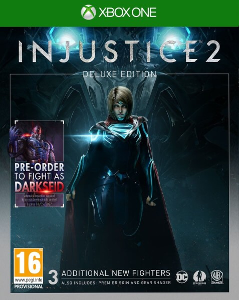 Injustice 2: Deluxe Edition Русская Версия (Xbox One)