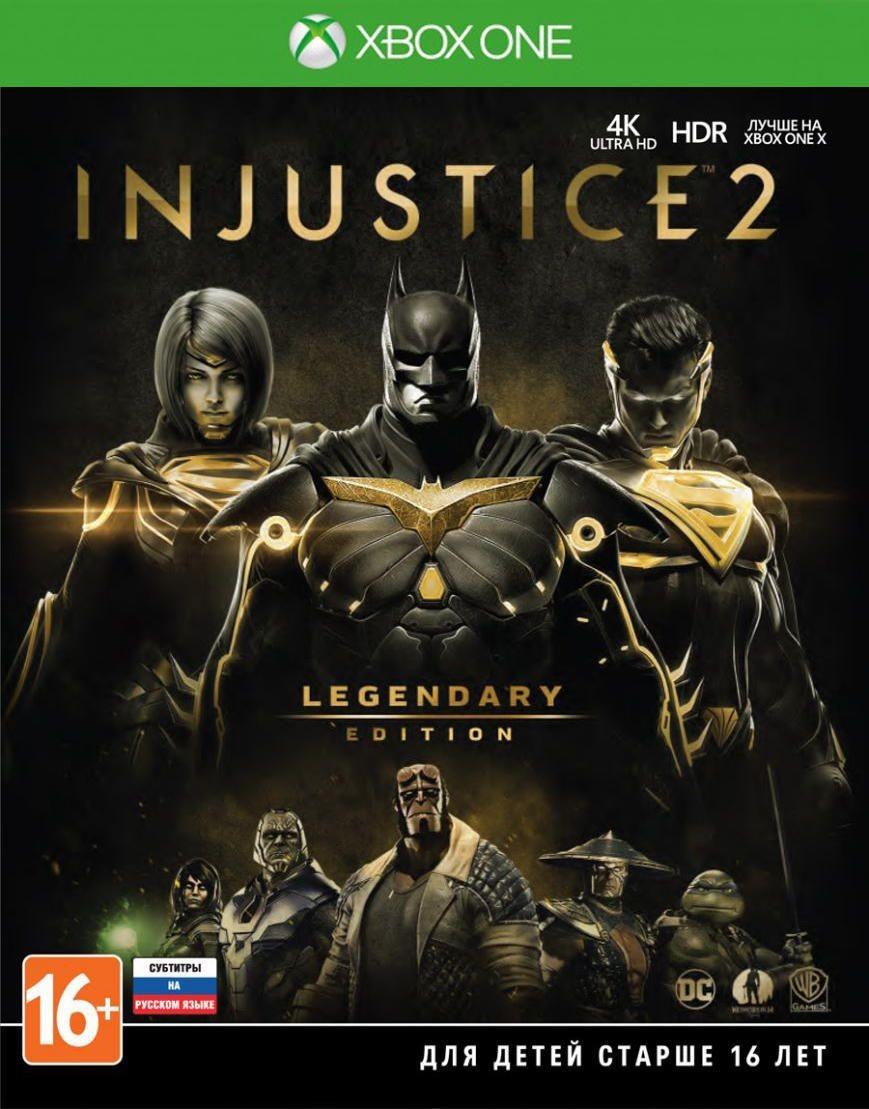 Injustice 2: Legendary Edition Русская Версия (Xbox One)