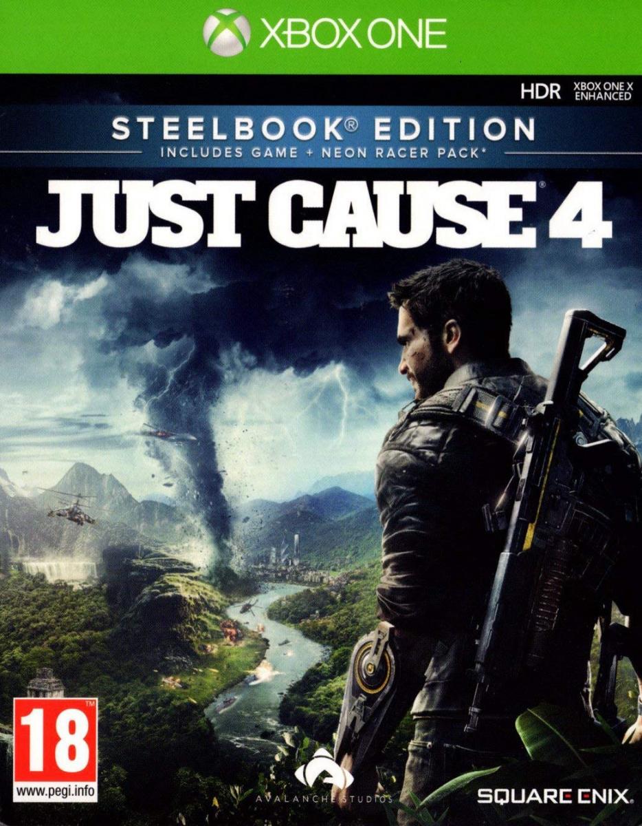 Just Cause 4 Steelbook Edition Русская Версия (Xbox One)