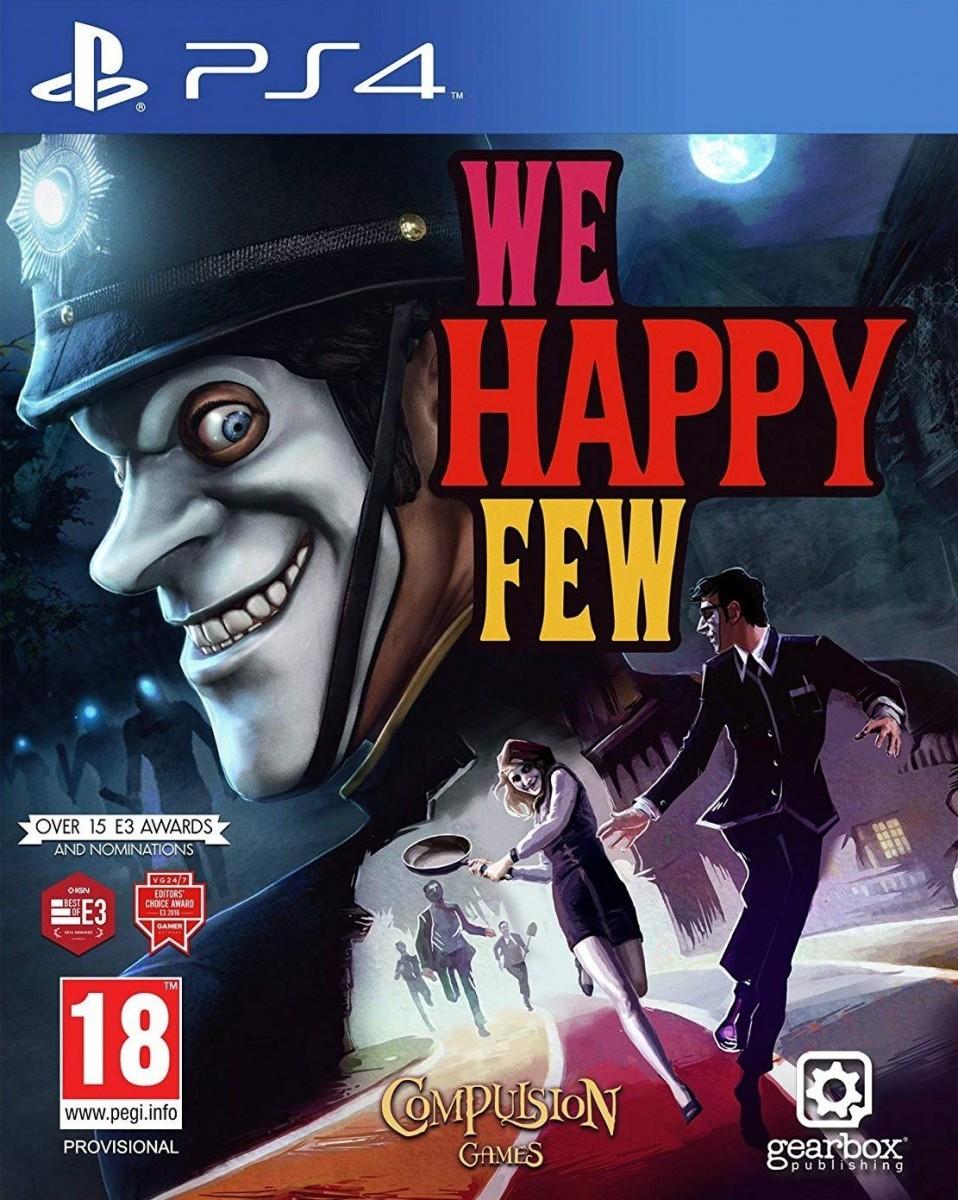 We Happy Few Русская Версия (PS4)