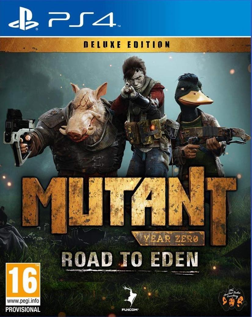 Mutant Year Zero: Road to Eden Русская версия (PS4)