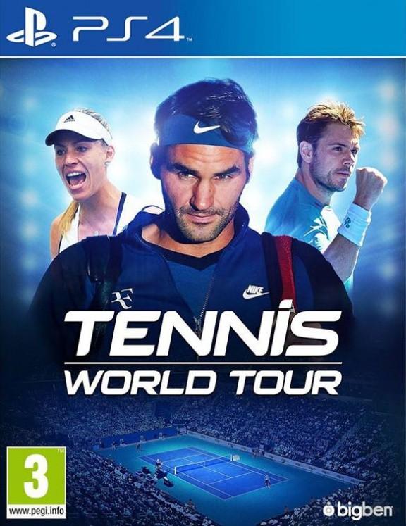 Tennis World Tour Русская версия (PS4)
