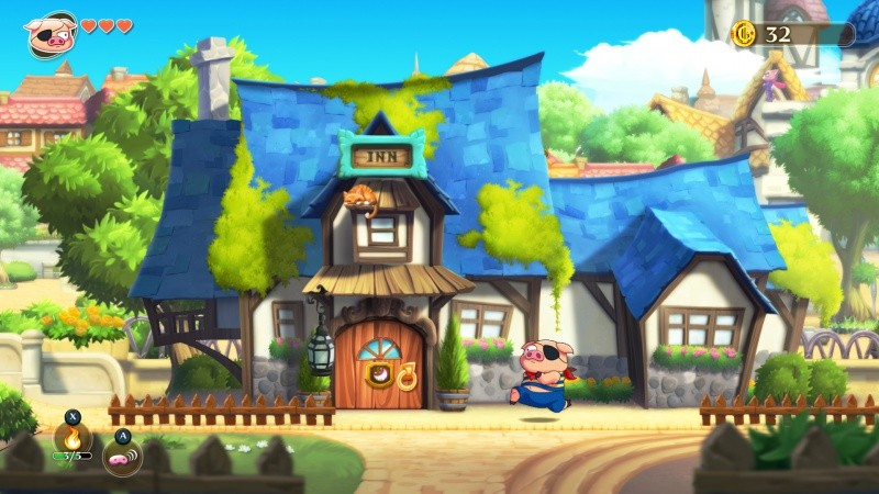 Monster Boy and the Cursed Kingdom (PS4)