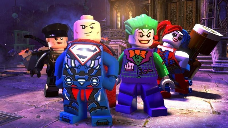 LEGO DC Super-Villains + Фильм LEGO Batman Movie Русская Версия (Xbox One)
