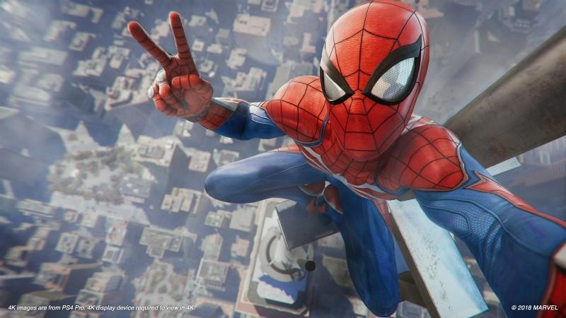 Marvel Человек-паук (Spider-Man) (PS4)