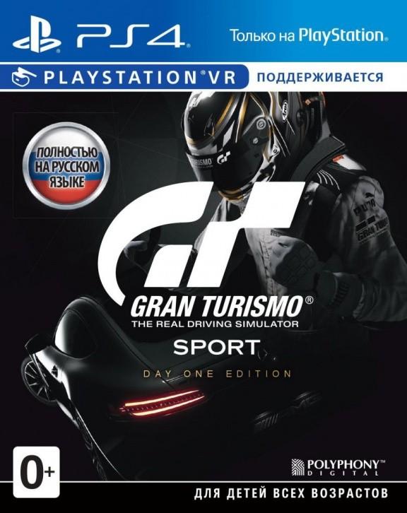 Gran Turismo Sport (с поддержкой PS VR) Day One Edition (Издание первого дня) (PS4)