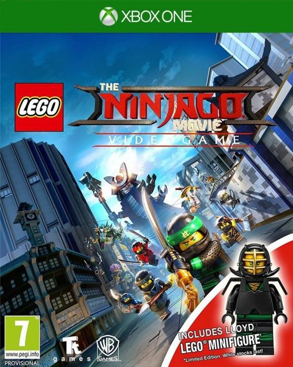 LEGO Ninjago: Movie VideoGame (Ниндзяго Фильм) Minifigure Edition Русская Версия (Xbox One)