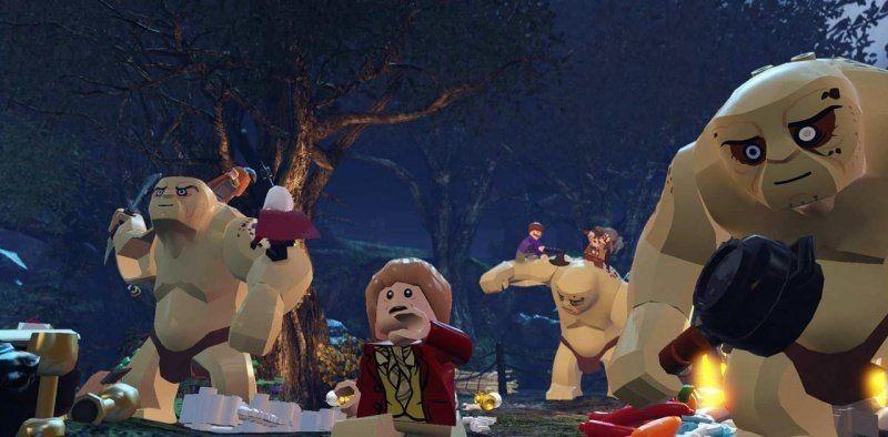 LEGO Хоббит (The Hobbit) (Xbox One)