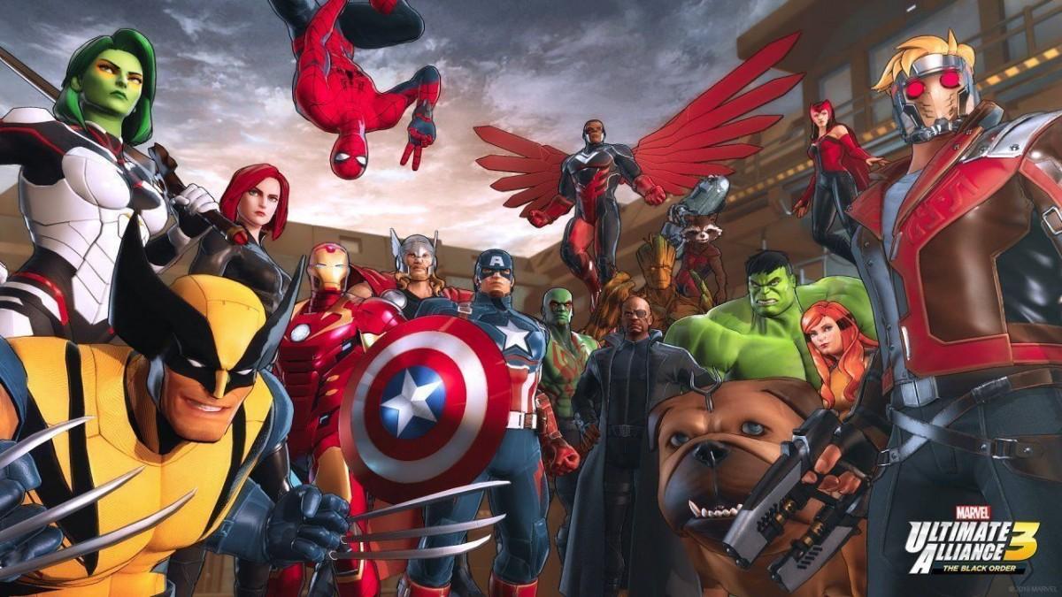 Marvel Ultimate Alliance 3: The Black Order Русская Версия (Switch)
