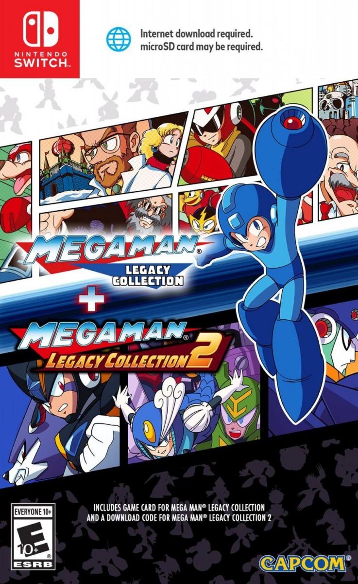 Mega Man: Legacy Collection 1 + 2 Русская версия (Switch)