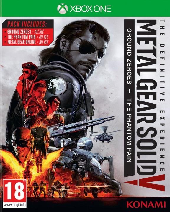 Metal Gear Solid 5 (V): Definitive Experience Русская Версия (Xbox One)