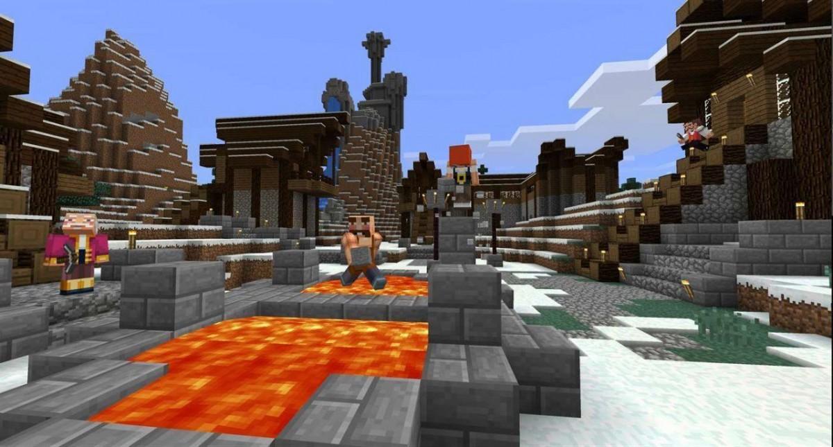 Minecraft (Стартовый набор + Авторский набор + 1000 Minecoins) Русская Версия (Код активации) (Xbox One)