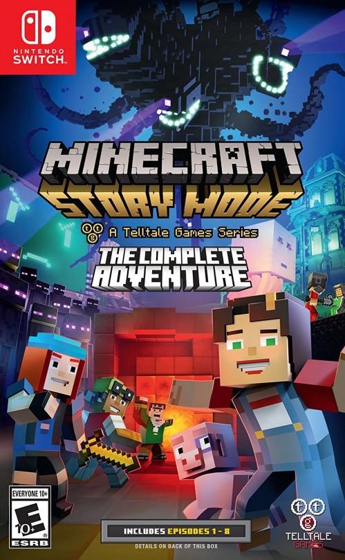 Minecraft: Story Mode Complete Adventure (эпизоды 1-8) Русская Версия (Switch)
