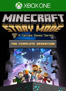 Minecraft: Story Mode Complete Adventure (эпизоды 1-8) Русская Версия (Xbox One)