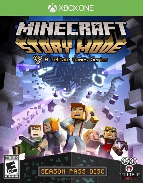Minecraft: Story Mode Русская Версия (Xbox One)