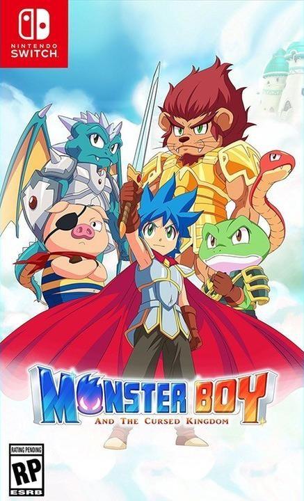 Monster Boy and the Cursed Kingdom Русская версия (Switch)