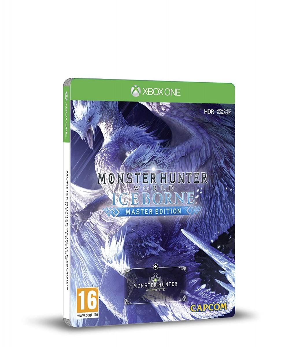 Monster Hunter: World Iceborn - Steelbook Master Edition Русская Версия (Xbox One)