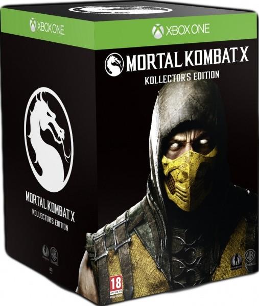 Mortal Kombat X Kollector's Edition Коллекционное издание (Collector's Edition) Русская Версия (Xbox One)