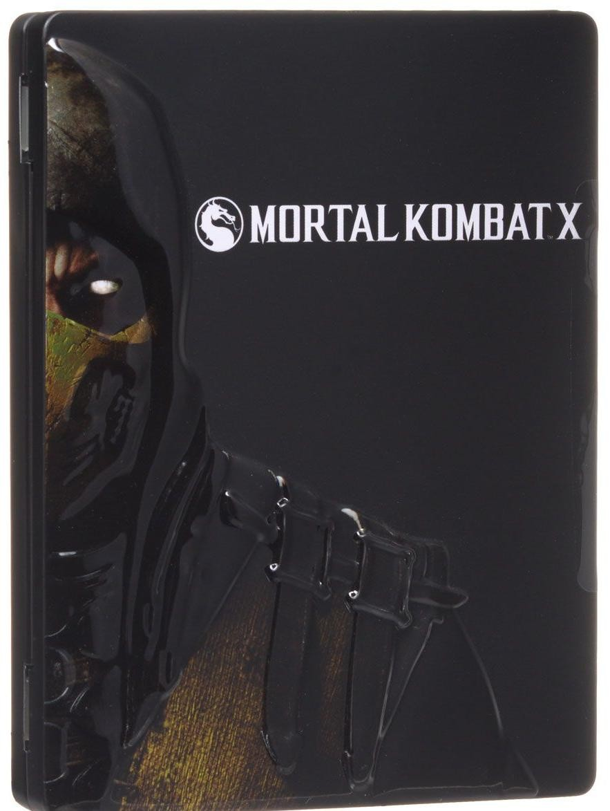 Mortal Kombat X Steelbook Edition Русская Версия (Xbox One)