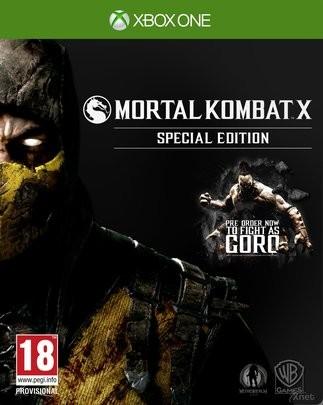 Mortal Kombat X Специальное Издание (Special Edition) вкл. Goro DLC (Xbox One)