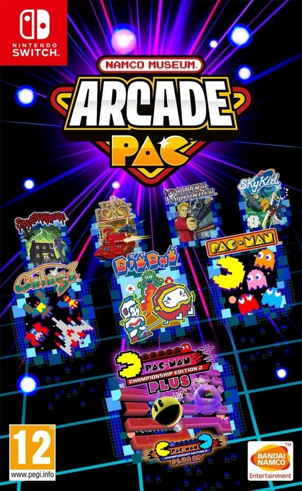 Namco Museum Arcade Pack (Switch)