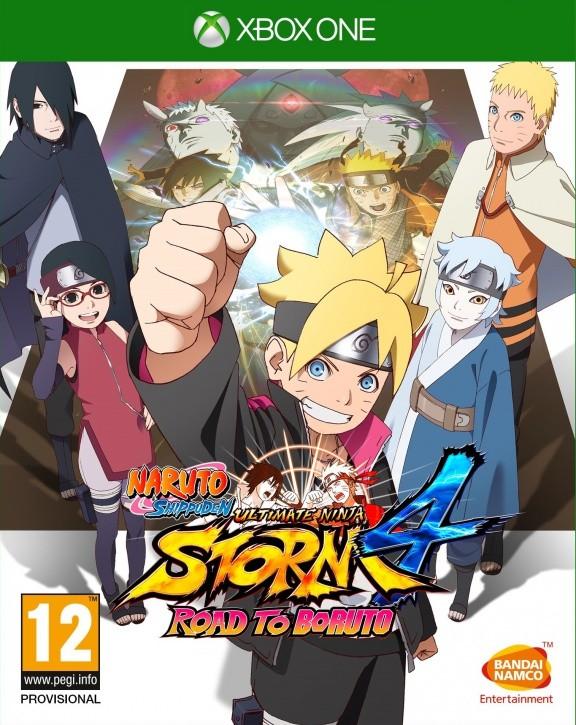 Naruto Shippuden: Ultimate Ninja Storm 4 Road to Boruto Русская Версия (Xbox One)