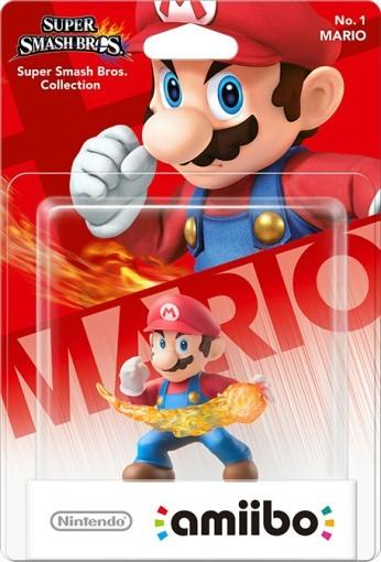 Amiibo: Интерактивная фигурка Марио (Mario with fire) (Super Smash Bros. Collection)