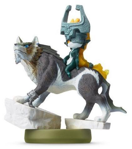 Amiibo: Интерактивная фигурка Линк-Волк (Link-Wolf) (Коллекция Zelda Twilight Princess)