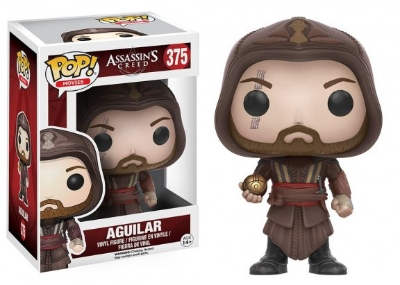 Фигурка POP! Bobble: Assassin's Creed Movie: Aguilar (11530)