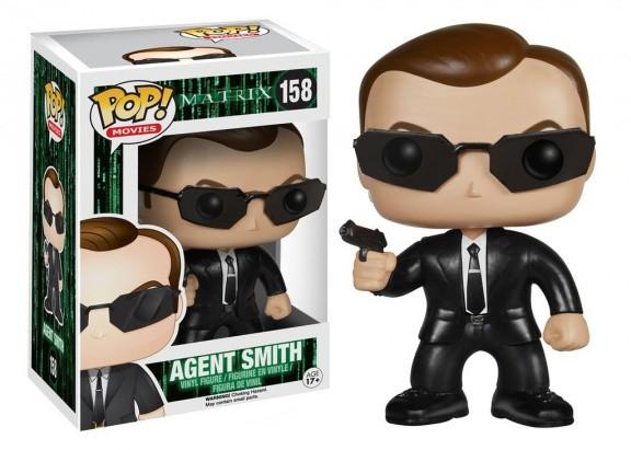 Фигурка Funko POP! Vinyl: The Matrix: Agent Smith 4186