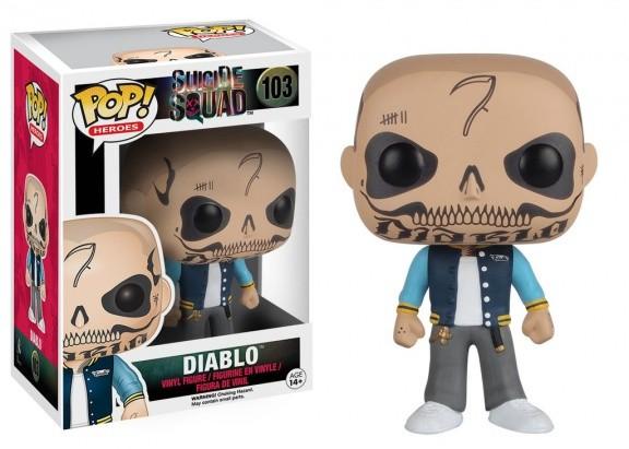 Фигурка Funko POP! Vinyl: Suicide Squad: Diablo 8362