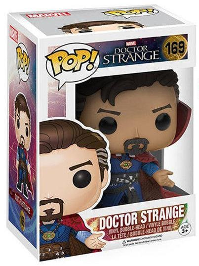 Фигурка Funko POP! Bobble: Доктор Стрендж (Doctor Strange) Марвел (Marvel) (9744) 9,5 см