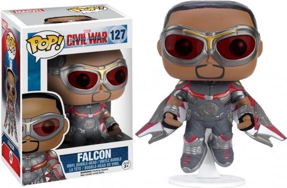 Фигурка POP! Bobble: Marvel: Captain America CW: Falcon (Exc) 7226