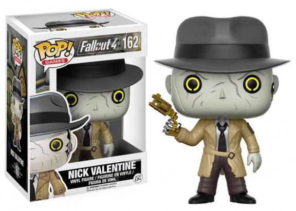 Фигурка Funko POP! Vinyl: Games: Fallout 4: Nick Valentine 12290
