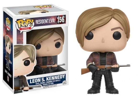 Фигурка Funko POP! Vinyl: Games: Resident Evil: Leon S. Kennedy 11753