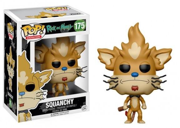 Фигурка Funko POP! Vinyl: Рик и Морти (Rick and Morty): Squanchy 12444