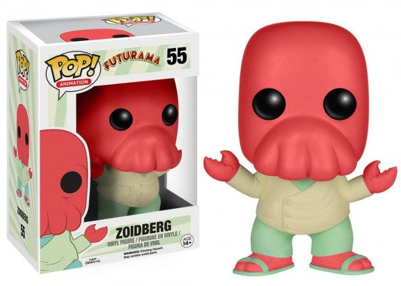 Фигурка Funko POP! Vinyl: Futurama: Zoidberg 6215