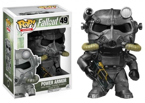 Фигурка Funko POP! Vinyl: Games: Fallout: Power Armor (Brotherhood of Steel) 5851