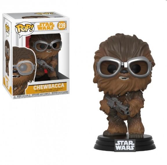 Фигурка Funko POP! Bobble: Звездные Войны: Соло (Star Wars: Solo): Chewbacca w/ Goggles POP 4 26975