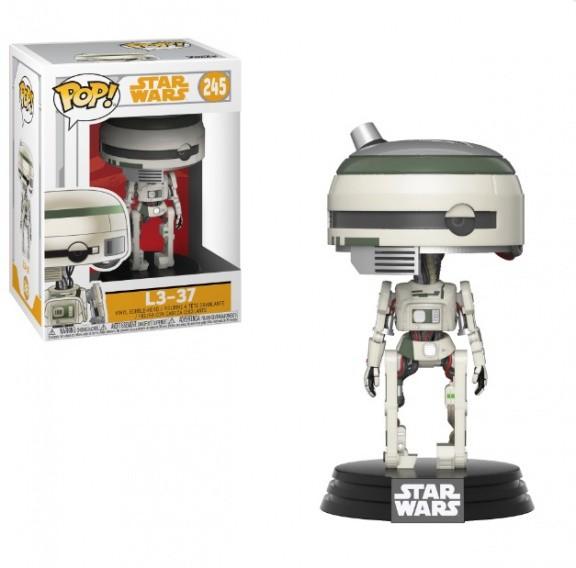 Фигурка Funko POP! Bobble: Звездные Войны: Соло (Star Wars: Solo): L3-37 POP 15 26990