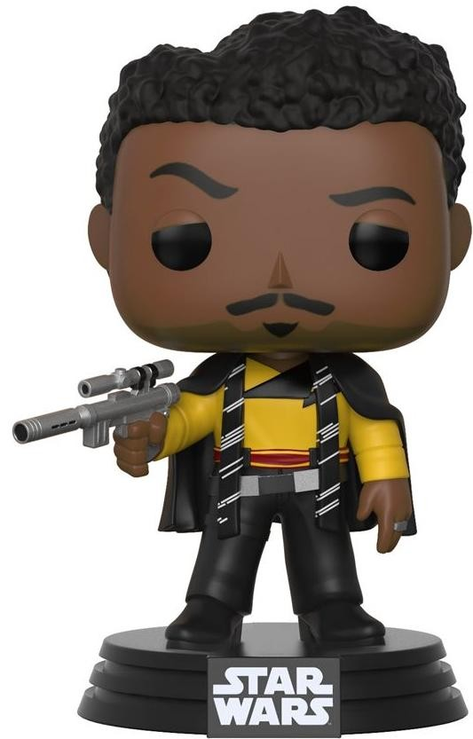 Фигурка Funko POP! Bobble: Звездные Войны: Соло (Star Wars: Solo) Ландо Калриссиан (Lando Calrissian) (26982) 9,5 см