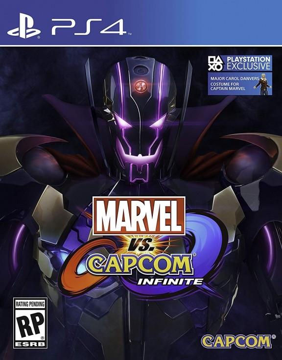 Marvel vs. Capcom Infinite Deluxe Edition (PS4)